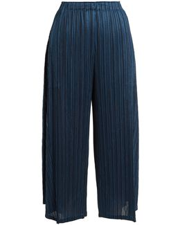 Sara Sara Pleated Cropped Trousers