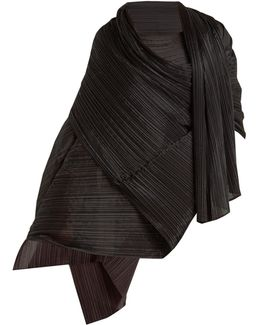 Madame T Pleated Scarf