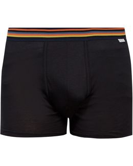 Cotton-jersey Boxer Trunks