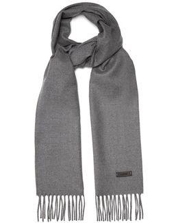 Fringed Wool Scarf