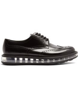 Bubble-midsole Leather Brogues