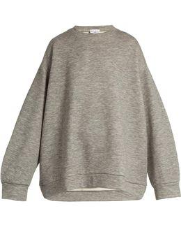 Crew-neck Cashmere-blend Sweatshirt