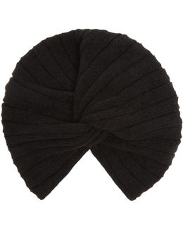 Ribbed Wool And Cashmere-blend Turban