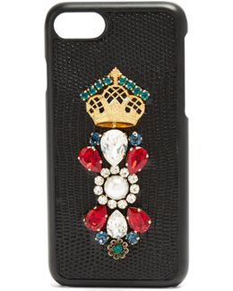 Iguana Crystal-embellished Iphone® 7 Case