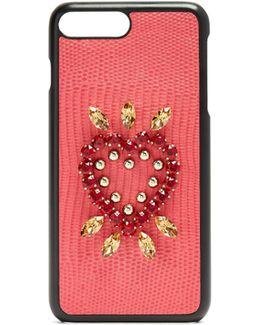 Iguana Crystal-embellished Iphone® 7 Plus Case