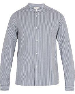 Pine Cotton Striped Shirt