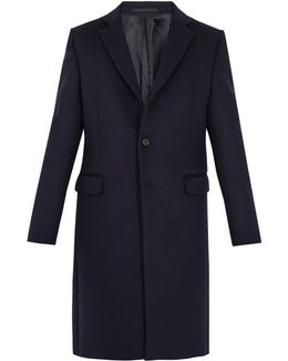 Gavin Single-breasted Wool-blend Coat