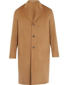 Chad Single-breasted Wool-blend Coat