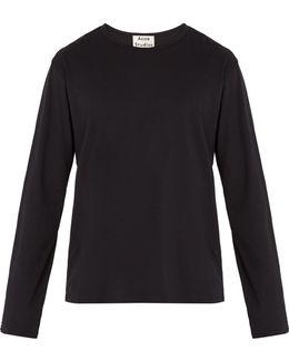 Niagara Long-sleeved Cotton T-shirt