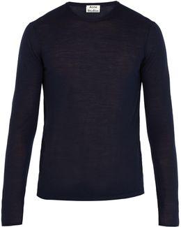 Kort Crew-neck Merino-wool Sweater
