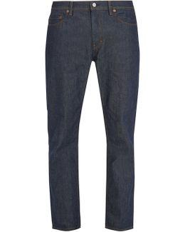 River Mid-rise Straight-leg Jeans