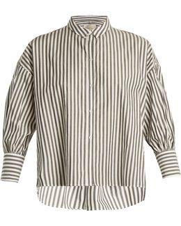 Fulton Striped Cotton Shirt