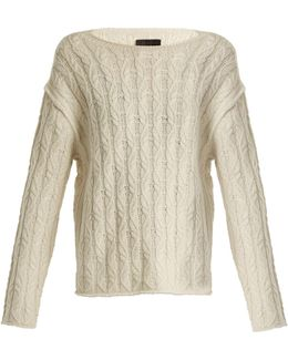 Bailey Cable-knit Cashmere Sweater