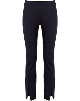 Thilde Skinny-fit Split-cuff Trousers