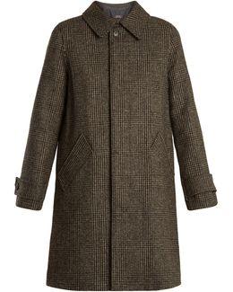 Dinnard Prince Of Wales-checked Wool Coat