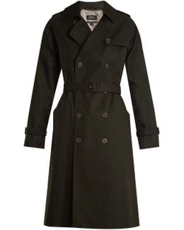 Garber Double-breasted Cotton Trench Coat