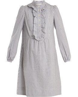 Anita Striped Cotton Dress