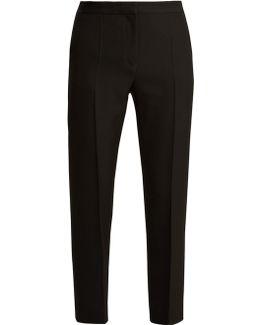 Calder Slim-leg Wool Trousers