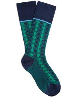 Geometric Ankle Socks