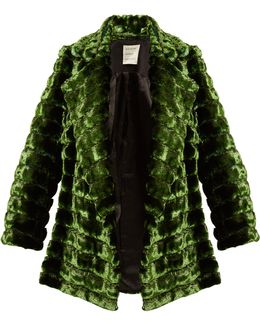 Grizzly Quilted Faux-fur Coat