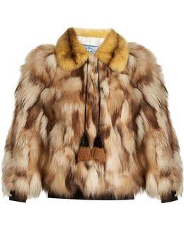 Patchwork Fur Jacket
