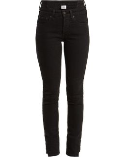 X Levi's Reworked High-rise Skinny-leg Jeans