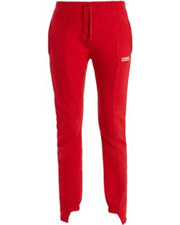 Slim-fit Cotton-blend Track Pants