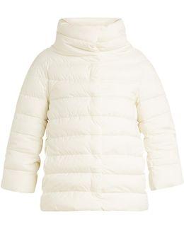 Funnel-neck Down-filled Jacket