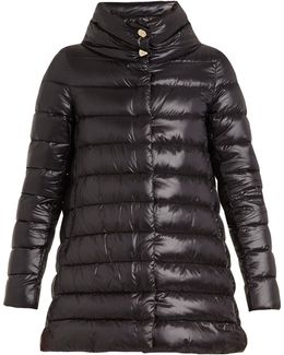 Quilted Down Shell Jacket