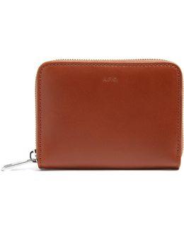 Dallas Zip-around Leather Wallet