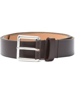 Western Smooth-leather Belt