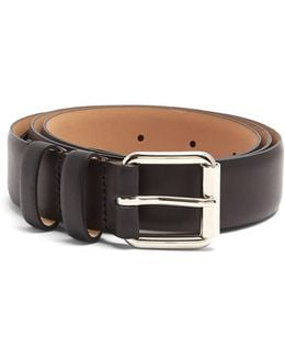 Paris Smooth-leather Belt