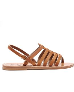 Homere Leather Sandals