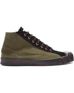 X Spalwart Special Mid-top Suede Trainers