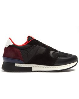 Runner Active Low-top Leather And Suede Trainers