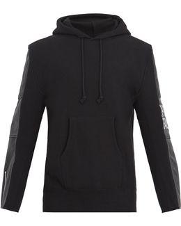 X The North Face Logo-appliqué Hooded Sweatshirt