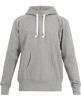Man Can't Live-print Cotton-jersey Sweatshirt
