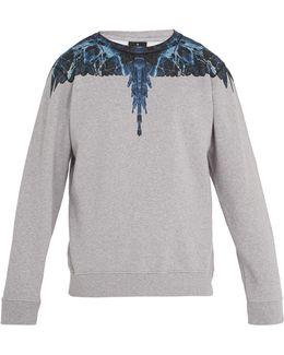 Amell Crew-neck Cotton Sweatshirt