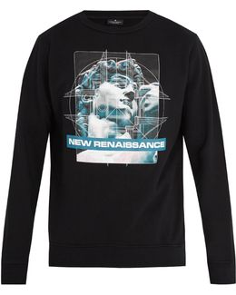 Kono Crew-neck Cotton Sweatshirt