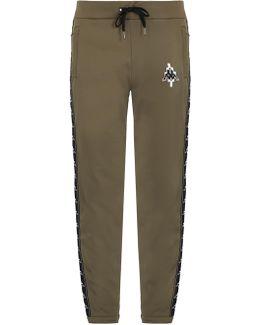 Kappa Contrast-panel Track Pants