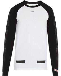 Raglan-sleeved Cotton T-shirt