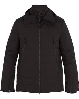 High-neck Quilted Down Jacket