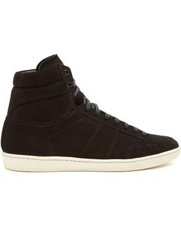 Court Classic High-top Suede Trainers