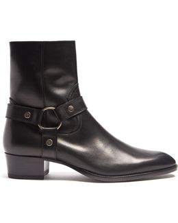 Wyatt Leather Ankle Boots