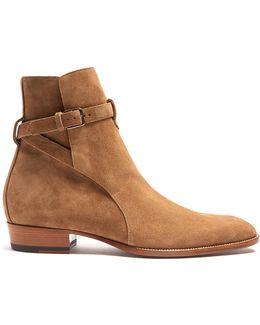 Wyatt Jodhpur Suede Ankle Boots