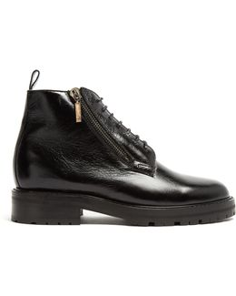 William Shearling-lined Leather Boots