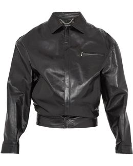 Wobble Leather Jacket