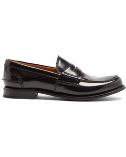Pembrey Leather Penny Loafers