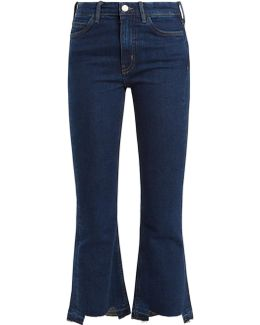 Marty Flared Cropped Jeans