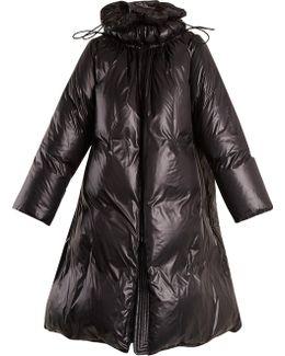 Oversized Padded Nylon Coat